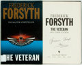 Books:Mystery & Detective Fiction, Frederick Forsyth. SIGNED. The Veteran. Bantam Press,[2001]. First edition, first printing. Signed by the author ...