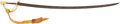 Edged Weapons:Swords, Brass D Handle Cavalry Saber....