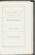Books:Literature 1900-up, William F. Buckley, Jr. SIGNED. The Story of Henri Tod.Franklin Center. The Franklin Library, 1984. First edition, ...