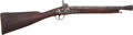 Long Guns:Muzzle loading, British Percussion Blunderbuss by Isaac Hollis & Sons....