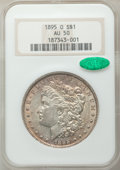 Morgan Dollars, 1895-O $1 AU50 NGC. CAC....