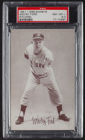 Baseball Cards:Singles (1940-1949), 1947-1966 Exhibits Whitey Ford, Pitching PSA NM-MT+ 8.5. ...