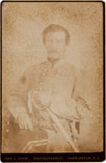 Photography:Cabinet Photos, General Micah Jenkins Cabinet Card....