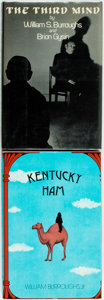 Books:Literature 1900-up, William S. Burroughs. Kentucky Ham (Dutton, 1973) [and:]The Third Mind (Viking 1978). First editions, first...(Total: 2 Items)