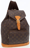 Luxury Accessories:Bags, Louis Vuitton Classic Monogram Canvas Montsouris Backpack. ...