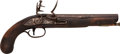 Handguns:Muzzle loading, English Flintlock Pistol With Ketland & Co / United StatesLock...