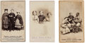Photography:CDVs, [Slavery]. Three Cartes de Visite of New Orleans Slaves.... (Total: 3 )