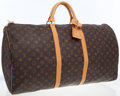 Luxury Accessories:Travel/Trunks, Louis Vuitton Classic Monogram Canvas Keepall 60 Weekender. ...
