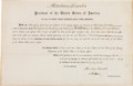 Autographs:U.S. Presidents, Abraham Lincoln Signed Appointment ...
