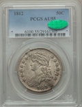 Bust Half Dollars: , 1812 50C Large 8 AU55 PCGS. CAC. PCGS Population (111/273). NGCCensus: (84/390). Mintage: 1,628,059. Numismedia Wsl. Price...