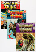 Bronze Age (1970-1979):Horror, Swamp Thing #1-24 Group (DC, 1972-76) Condition: Average FN/VF....(Total: 24 Comic Books)