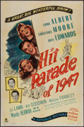 """Movie Posters:Musical, Hit Parade of 1947 (Republic, 1947). One Sheet (27"""" X 41""""). Musical.. ..."""
