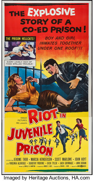 Image result for riot in juvenile prison movie poster