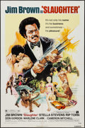 "Movie Posters:Blaxploitation, Slaughter (American International, 1972). One Sheet (27"" X 41"").Blaxploitation.. ..."