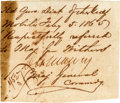 """Autographs:Military Figures, Confederate Major General Dabney Herndon Maury: Clipped Signature """"D. H. Maury""""...."""