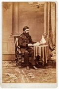 Photography:Cabinet Photos, Union Major General John Aaron Rawlins: Albumen Cabinet Photograph....