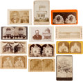 Photography:Stereo Cards, Ulysses S. Grant: Memorial Stereoviews and Cabinet Cards. ... (Total: 12 )