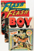 Golden Age (1938-1955):Miscellaneous, Golden Age Covers Only Group (Various Publishers, 1940s).... (Total: 4 Items)