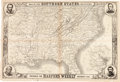 Miscellaneous:Maps, Map Of The Southern States . . . Prepared For Harper's WeeklyNovember 1861....