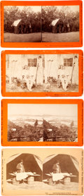 Photography:Stereo Cards, Civil War Stereoviews: Lot of Four Stereo Cards From the War for the Union Photographic War History 1861-1865 Series.... (Total: 4 )