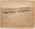 "Photography:Official Photos, Large Albumen Photograph of the First New York and Battery ""D"" Before the Town of Fredericksburg...."