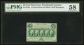 Fractional Currency:First Issue, Fr. 1310a 50¢ First Issue Perf. 14 PMG Choice About Unc 58.. ...