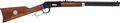 Long Guns:Lever Action, Boxed Winchester Model 1894 Buffalo Bill Commemorative Saddle Ring Carbine....