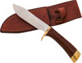 Edged Weapons:Knives, Ted Dowell Bowie Knife....