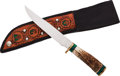 Edged Weapons:Knives, Fighting Knife by Finnley....