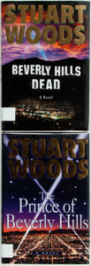 Books:Mystery & Detective Fiction, Stuart Woods. Two First Editions of the Rick Barron Series.Includes: The Prince of Beverly Hills [and:] Beverly...(Total: 2 Items)