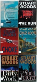 Books:Mystery & Detective Fiction, Stuart Woods. SIGNED. Group of Six Various First Editions from theWill Lee and Stone Barrington Series. Various publishers ...(Total: 6 Items)