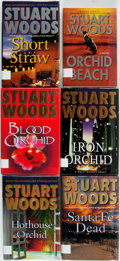 Books:Mystery & Detective Fiction, Stuart Woods. Group of Six Various First Editions from the HollyBarker and Ed Eagle Series. Various publishers and dates. P...(Total: 6 Items)