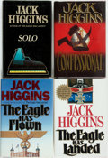 Books:Mystery & Detective Fiction, Jack Higgins. Group of Four First Editions. Three are in the LiamDevlin Series. Various publishers and dates. Publisher's b...(Total: 4 Items)