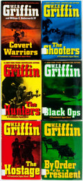Books:Mystery & Detective Fiction, W.E.B. Griffin. Group of Six First Editions in the PresidentialAgent Series. New York: Putnam's, [various dates]. Publisher...(Total: 6 Items)