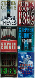 Books:Mystery & Detective Fiction, Stephen Coonts. Group of Six First Edition Titles. Three are in theTommy Carmellini Series and Two are in the Jake Grafton ... (Total:6 Items)