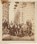 Photography:Official Photos, Ulysses S. Grant: Photograph of Grant in Egypt, circa 1877....