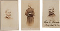 Photography:CDVs, George G. Meade: Three Cartes de Visite, One Signed.... (Total: 3 Items)