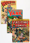 Golden Age (1938-1955):Miscellaneous, Comic Books - Assorted Alex Schomburg-Related Golden Age Comics Group (Various Publishers, 1943-48) Condition: GD/VG.... (Total: 3 Comic Books)