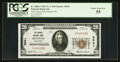 National Bank Notes:Wisconsin, Oconto, WI - $20 1929 Ty. 1 The Oconto NB Ch. # 3541. ...