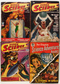 Pulps:Science Fiction, Assorted Science Fiction Pulps Group (Various Publishers,1950s).... (Total: 8 Comic Books)