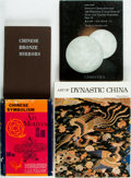 Books:Art & Architecture, [Chinese Art]. Group of Three Books on or about the Arts in China and one Auction Catalog of Chinese Jade. Various publisher... (Total: 4 Items)