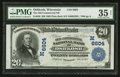 National Bank Notes:Wisconsin, Oshkosh, WI - $20 1902 Plain Back Fr. 650 The Old-Commercial NB Ch. # (M)6604. ...