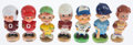 Miscellaneous Collectibles:General, 1960s-80's Misc. Sports Nodders Lot of 7....