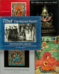 Books:Art & Architecture, [Tibetan Art]. Group of Five Books about Tibetan Art. Various publishers, [1956-1996]. Folios. Publishers' bindings in jacke... (Total: 5 Items)