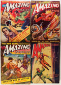 Pulps:Science Fiction, Amazing Stories Box Lot (Ziff-Davis, 1942-47) Condition: AverageVG-....