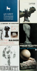 Books:Art & Architecture, [Sculptors]. Group of Six Books on Sculptors and Sculpture. Various publishers, [1962-1999]. Folios. Publishers' bindings in... (Total: 6 Items)