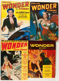 Pulps:Science Fiction, Thrilling Wonder Stories Box Lot (Standard, 1936-54) Condition:Average VG....