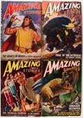 Pulps:Science Fiction, Amazing Stories Box Lot (Ziff-Davis, 1943-52) Condition: AverageVG-....