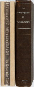 Books:Biography & Memoir, Gertrude Stein. The Autobiography of Alice B. Toklas. NewYork: The Literary Guild, [1933]. First edition, first pri...(Total: 2 Items)