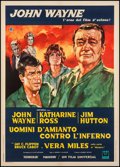 "Movie Posters:Action, Hellfighters (Universal, 1969). Italian 2 - Foglio (39.25"" X 55""). Action.. ..."